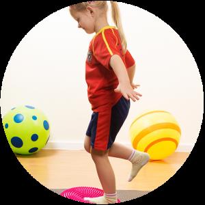 Paediatrie Balance Gummibälle
